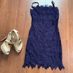 Elegant Crochet Dress